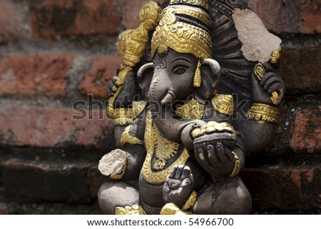 Ganesha Statue - stock photo