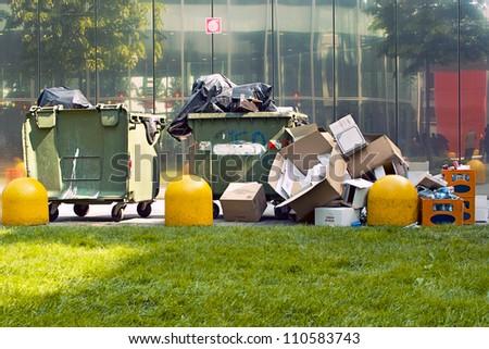 garbage - stock photo