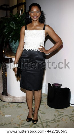 Garcelle Beauvais at the Essence Black Women in Hollywood Luncheon held at the Beverly Hills Hotel in Beverly Hills, USA on February 19, 2009. - stock photo