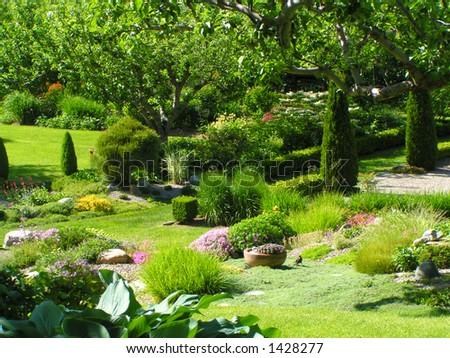 Garden (1) - stock photo