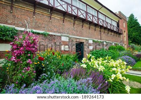 Garden landscape  - stock photo
