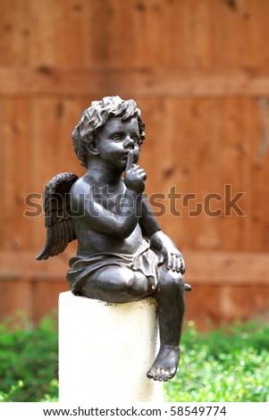 Garden Sculpture - stock photo