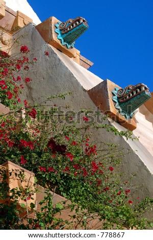 Garden Wall - stock photo