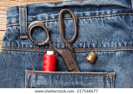 Garment accessories  - stock photo