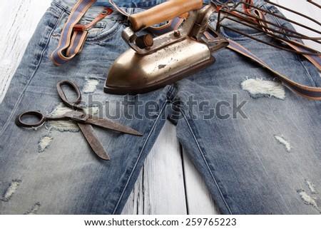 Garment accessories - stock photo