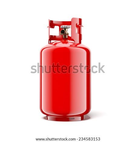 Gas bottle  - stock photo
