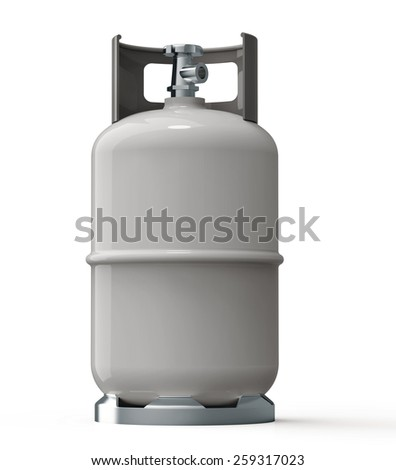 gas container  - stock photo