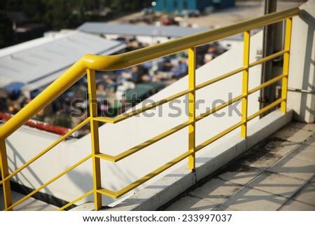 Gas power plant under-construction - stock photo