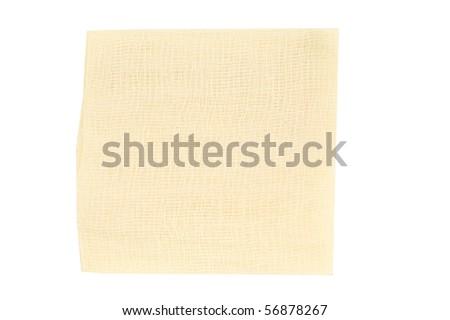 gauze on a white background - stock photo