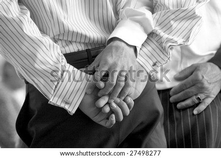 gay lovers - stock photo