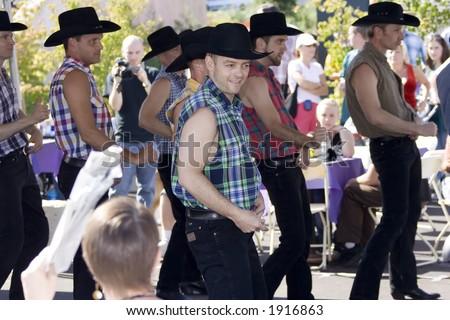 Gay Pride, Cowboys - stock photo