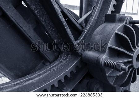gear mechanism - stock photo