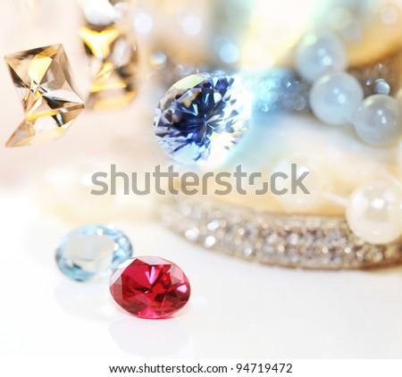 Gems - stock photo