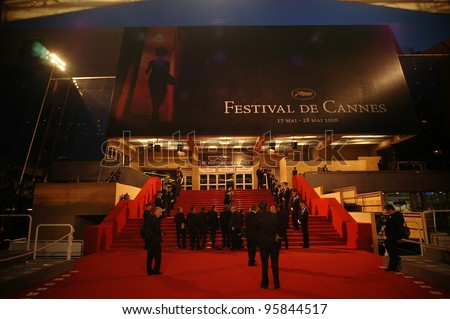 General atmosphere at the 59th Annual International Film Festival de Cannes. May 25, 2006  Cannes, France.  2006 Paul Smith / Featureflash - stock photo