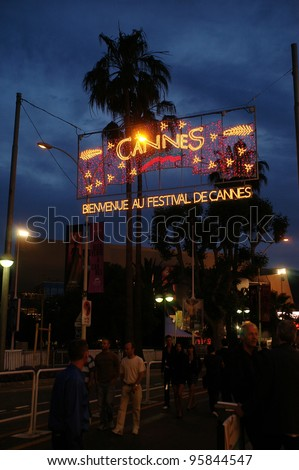 General atmosphere at the 59th Annual International Film Festival de Cannes. May 22, 2006  Cannes, France.  2006 Paul Smith / Featureflash - stock photo