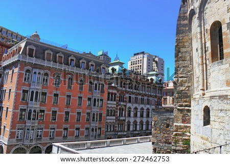 Genoa - stock photo