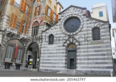 Genoa San Matteo - stock photo