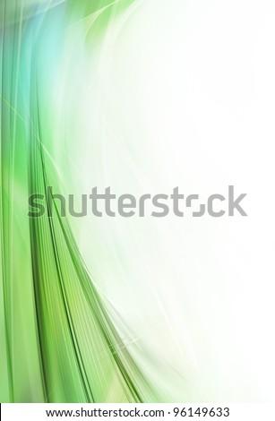 Gentle Wave Design Element - stock photo