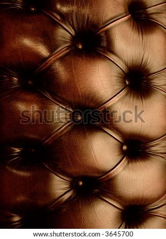 Genuine leather texture - stock photo