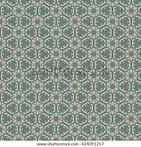 Geometric abstract pattern. Background design. - stock photo