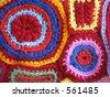 Geometric Crochet - stock photo