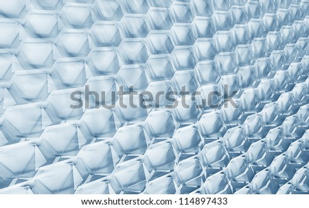 Geometric Grid - stock photo