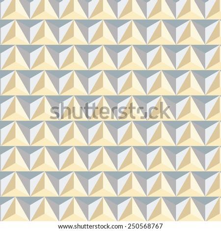 Geometric pattern background - stock photo