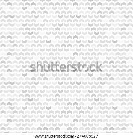 Geometric  pattern with grey and white triangles. Seamless abstract texture for wallpapers and backgrounds - stock photo