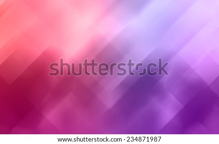 geometric shape background abstract design, random pattern of triangle hexagonal and trapezoid angle mosaic or stained glass pieces effect, pink red and purple color tone, modern background - stock photo