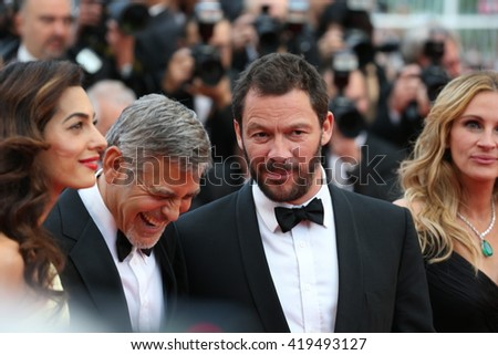 "George Clooney, Amal Clooney at the Money Monster Premiere for ""Money Monster"" at the 69th Festival de Cannes.