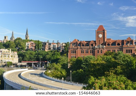 Georgetown - Washington DC, United States - stock photo