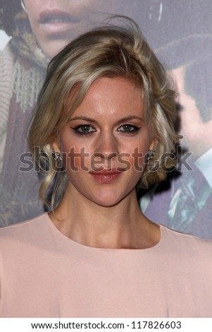 """Georgia King at the """"Cloud Atlas"""" Los Angeles Premiere, Chinese Theater, Hollywood, CA 10-24-12 - stock photo"""