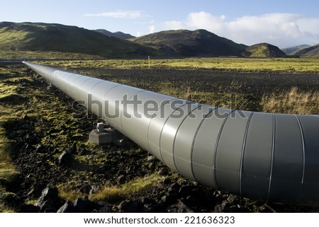 Geothermal energy - stock photo
