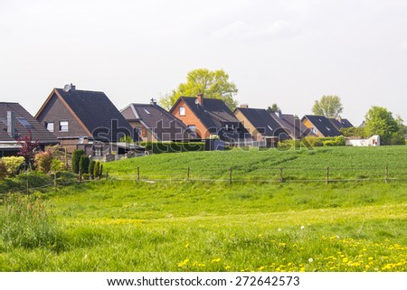 German countryside landscape - stock photo