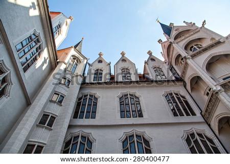 German old castle, Meissen, Saxony, Germany - stock photo