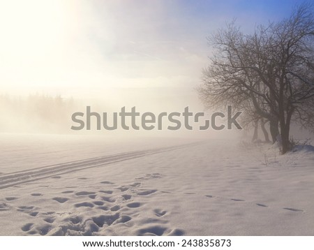 Germany, Saxony, Erzgebirge  - stock photo
