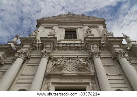 Gesuiti ,Santa Maria Assunta , Venice,Italy - stock photo