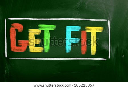 Get Fit Concept - stock photo