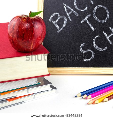 Get ready for back to school - stock photo