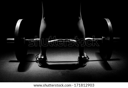 Get Ready to Lift - stock photo