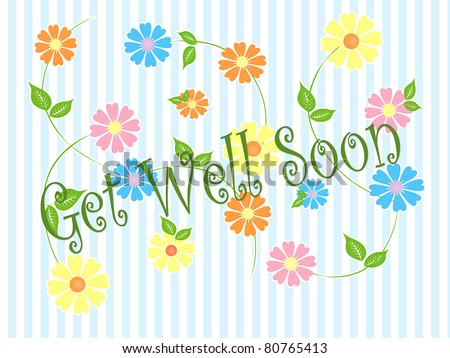 Get Well Soon - stock photo