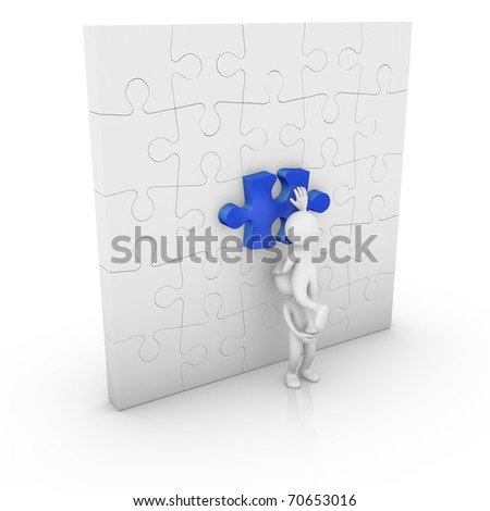 Getting help to resolve a problem - stock photo