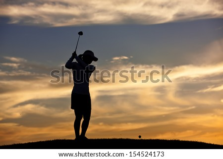 Getting ready to hit the ball. - stock photo