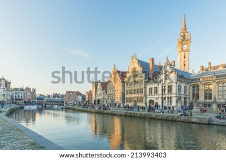 Ghent, Belgium - stock photo