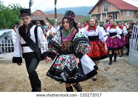 Romanian tradition stock photos images pictures shutterstock - Traditional style wedding romania ...
