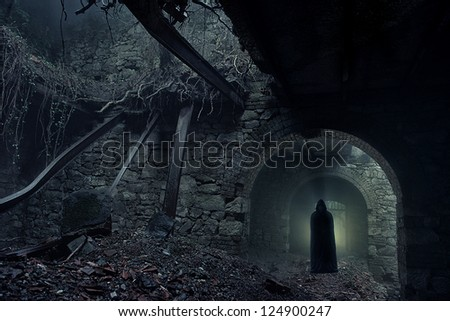ghost - stock photo
