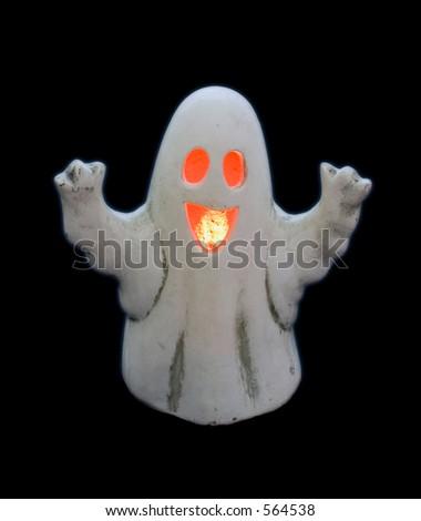 Ghost lantern - stock photo