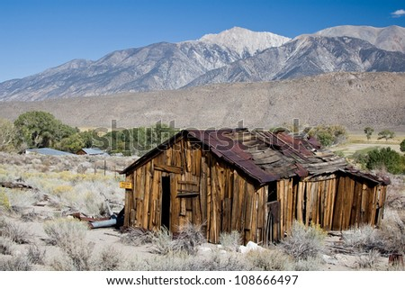 Ghost town - stock photo