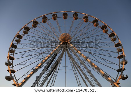 Giant Brighton Wheel - stock photo
