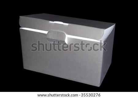 Gift carton. - stock photo